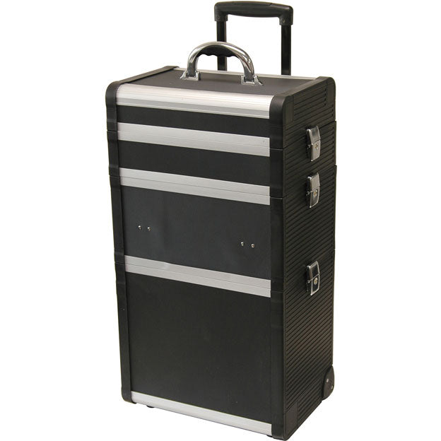 T.Z. Case Beauty Cases End Panel Wheeled Case
