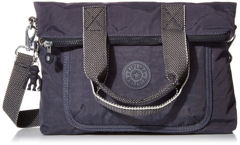 Kipling Eleva Large Handbag, Night Grey