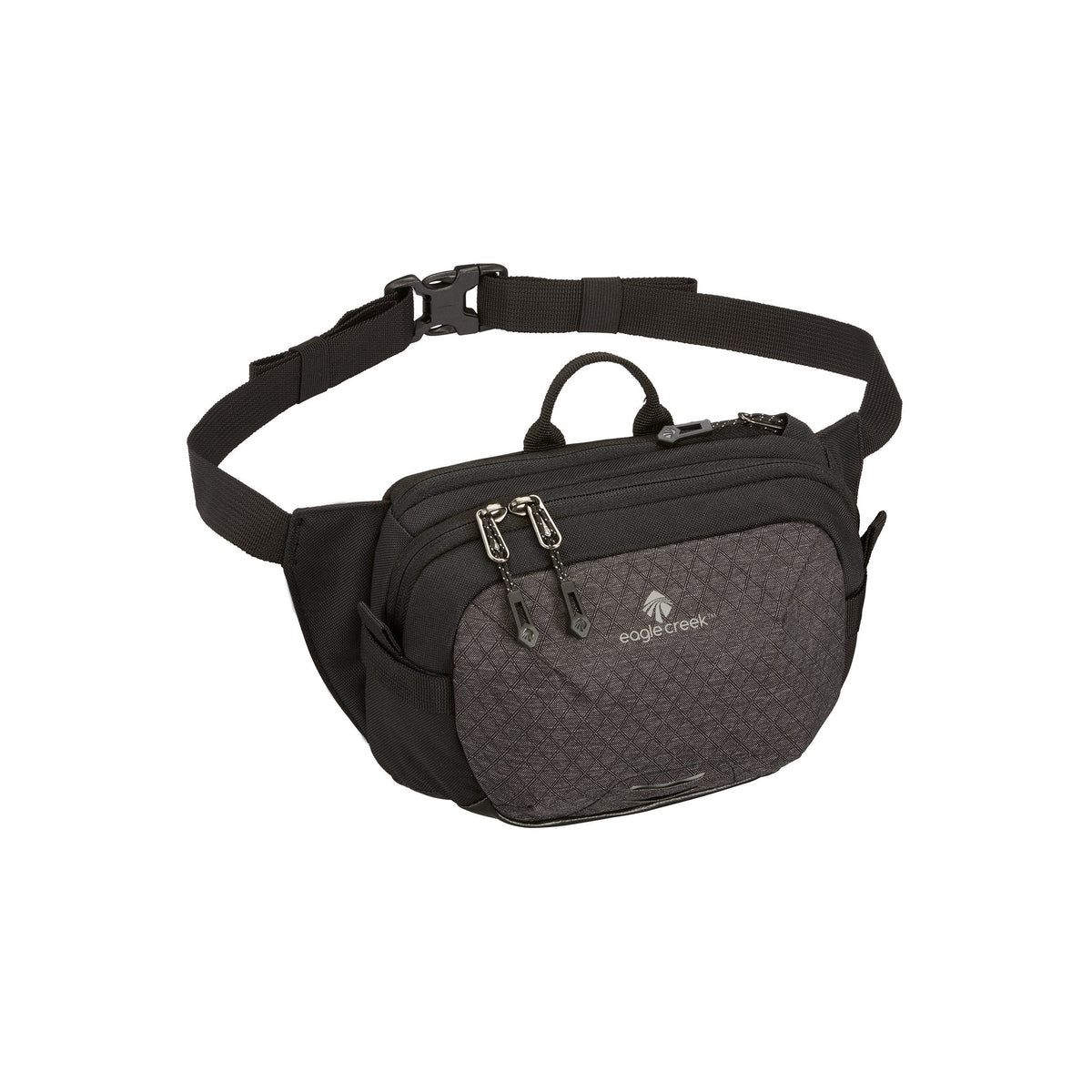 Eagle Creek Multiuse Fanny Travel Sport Waist Pack for E-Reader & Phone, Black/Charcoal