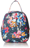 Vera Bradley Women's Signature Cotton Lunch Bunch Lunch Bag, Pretty Posies, One Size