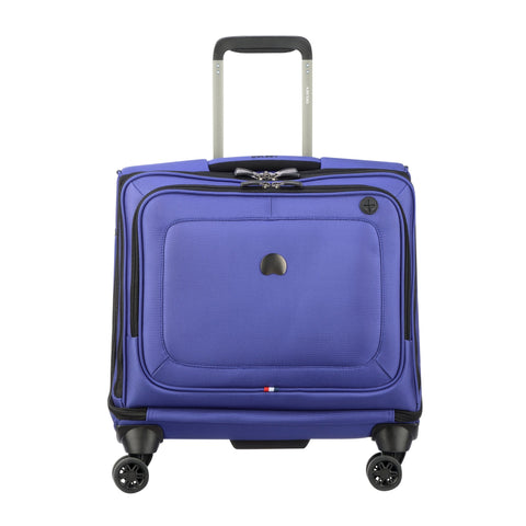 DELSEY Paris Cruise Lite Softside Spinner Trolley Tote, BLUE