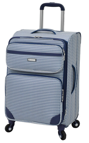 London Fog Hampton 20-Inch Expandable Spinner Carry-On