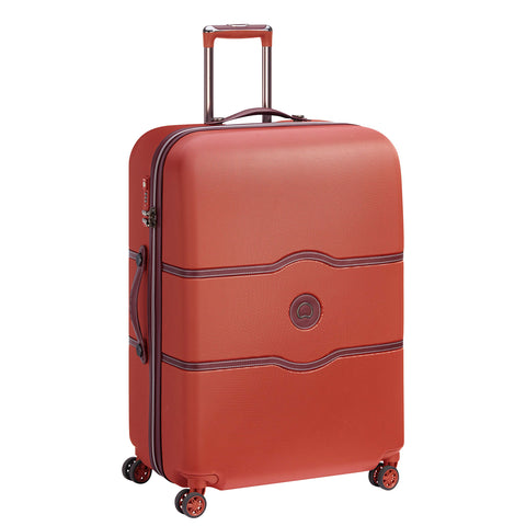Delsey Suitcase, Terracotta