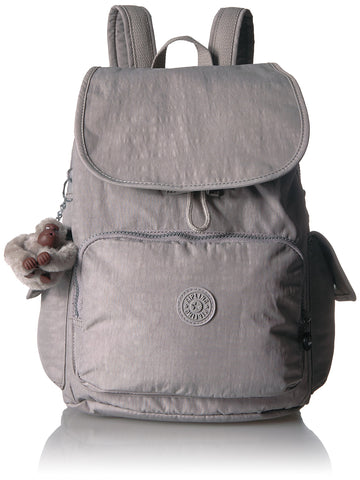 Kipling Women's City Pack Backpack, Slate Grey , One Size