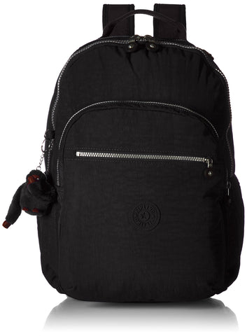 Kipling womens Seoul Go Black Laptop Backpack, black, One Size