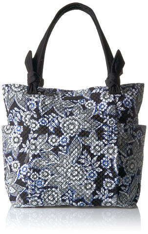 Vera Bradley Signature Cotton Hadley Tote, Snow Lotus