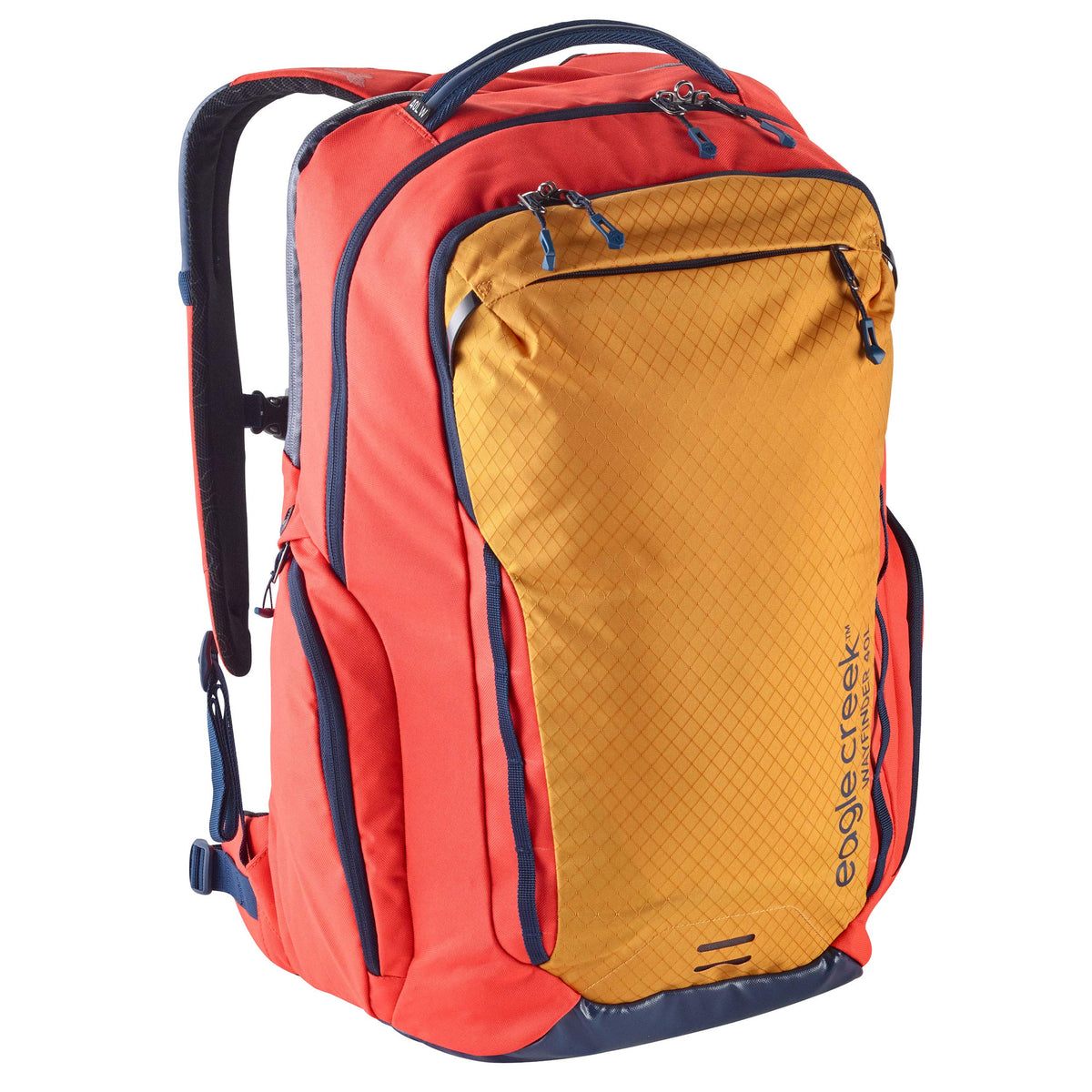 Eagle Creek Women's Wayfinder Backpack, Fit Design, Sahara Yellow, 40L