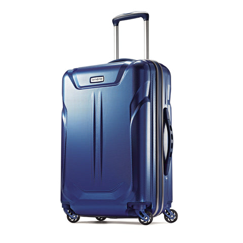 Samsonite Liftwo Hardside Spinner 21, Blue, One Size