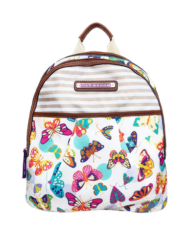 Lily Bloom Chantal Backpack, Butterfly Twister