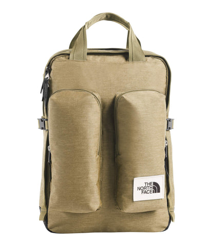 The North Face Mini Crevasse, Kelp Tan Dark Heather/Asphalt Grey Light Heather, OS