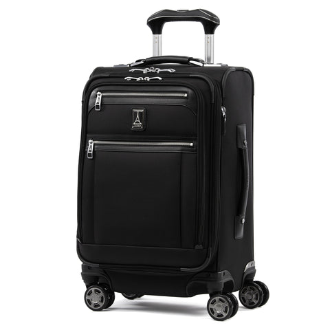 "Travelpro Luggage Platinum Elite 20"" Carry-on Expandable Business Spinner w/USB Port, Shadow Black"