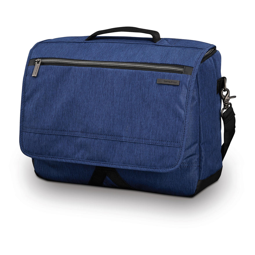 Samsonite Modern Utility Messenger Bag Laptop, True Navy, One Size