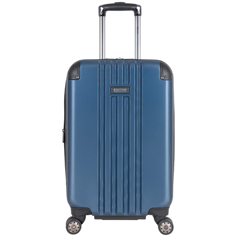 "Kenneth Cole Reaction Reverb 20"" Lightweight Hardside Expandable 8-Wheel Spinner Carry-On Suitcase, Ice Blue"