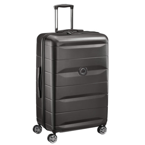 DELSEY PARIS Comete Suitcase 77 centimeters 98.8 Black (Negro)