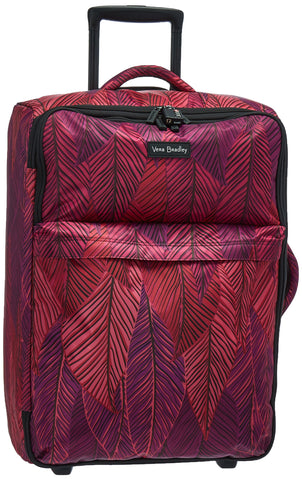 Vera Bradley Women's Foldable Large, Banana Leaves Fuchsia