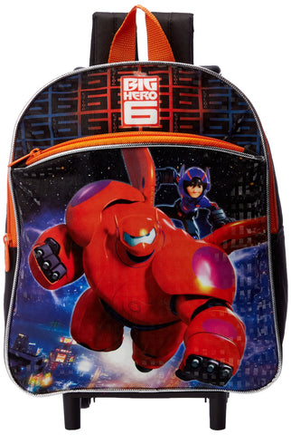 Disney Boys' Big Hero 6 Rolling Backpack, Multi, One Size