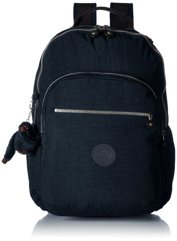 Kipling womens Seoul Go True Blue Laptop Backpack, true blue, One Size