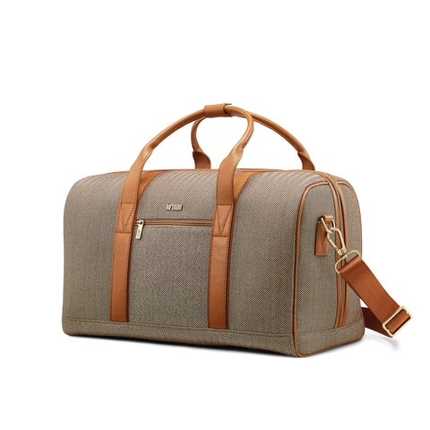 Hartmann Herringbone Deluxe Weekend Duffel, Terracotta