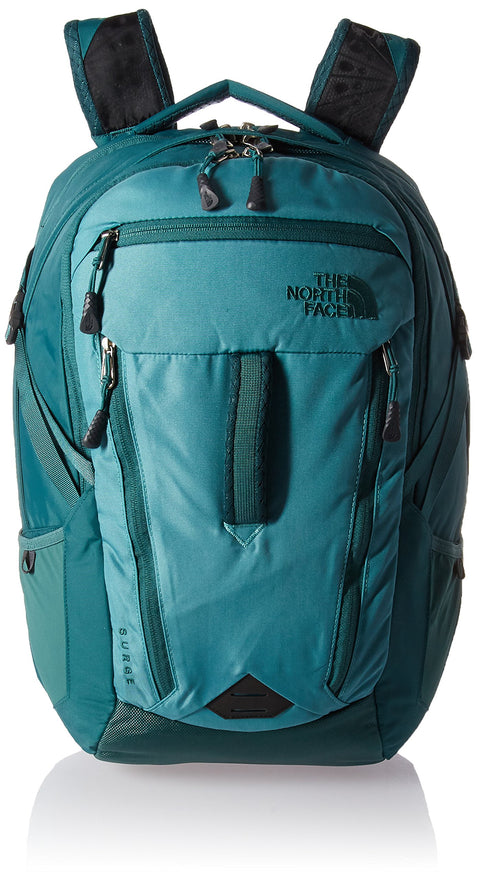 The North Face Women's Women's Surge Backpack Bristol Blue/Jasper Green One Size