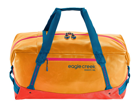 Eagle Creek Migrate Duffel Bag 90L Sahara Yellow