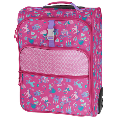 Stephen Joseph All Over Print Luggage, Princess/Castle