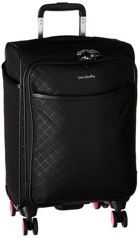 Vera Bradley Softside Small Spinner, Classic Black