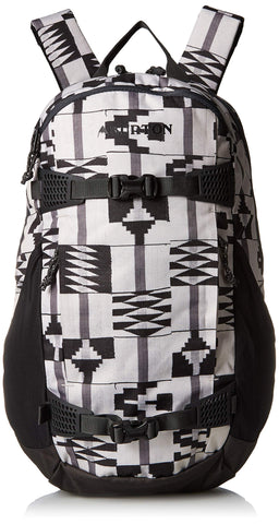 Burton Women's Day Hiker 25L, Pelican Brickstripe Print, One Size
