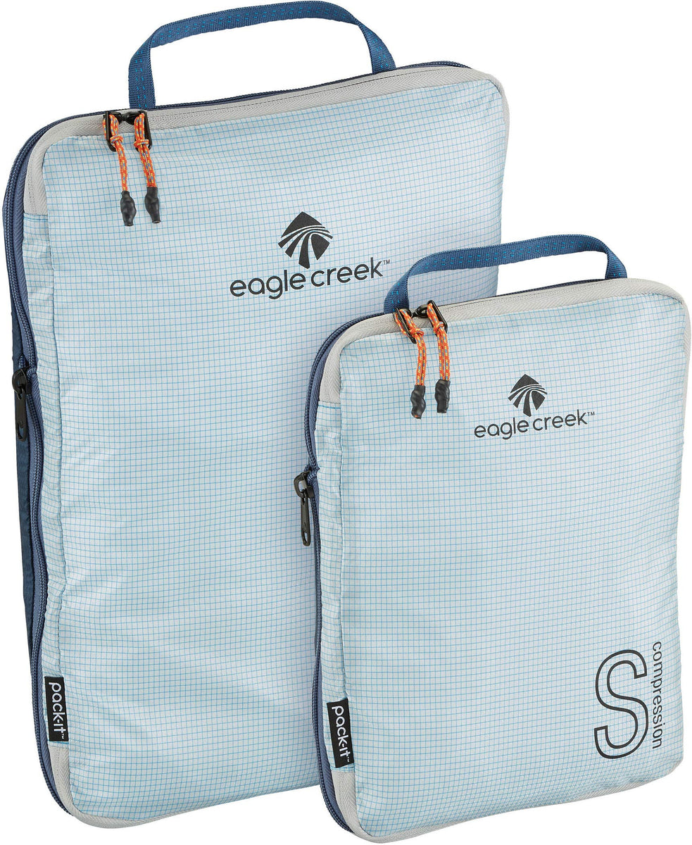 Eagle Creek Pack-It Specter Tech Compression Cube Set S/M Indigo Blue One Size