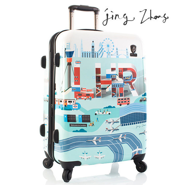 Jing Zhang by Heys I.A.T.A 26 inch Hardside Spinner