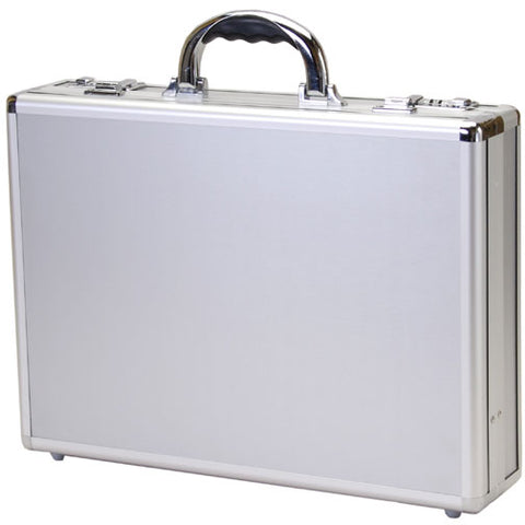 T.Z. Case Business Cases Hidden Hinge Aluminum Briefcase