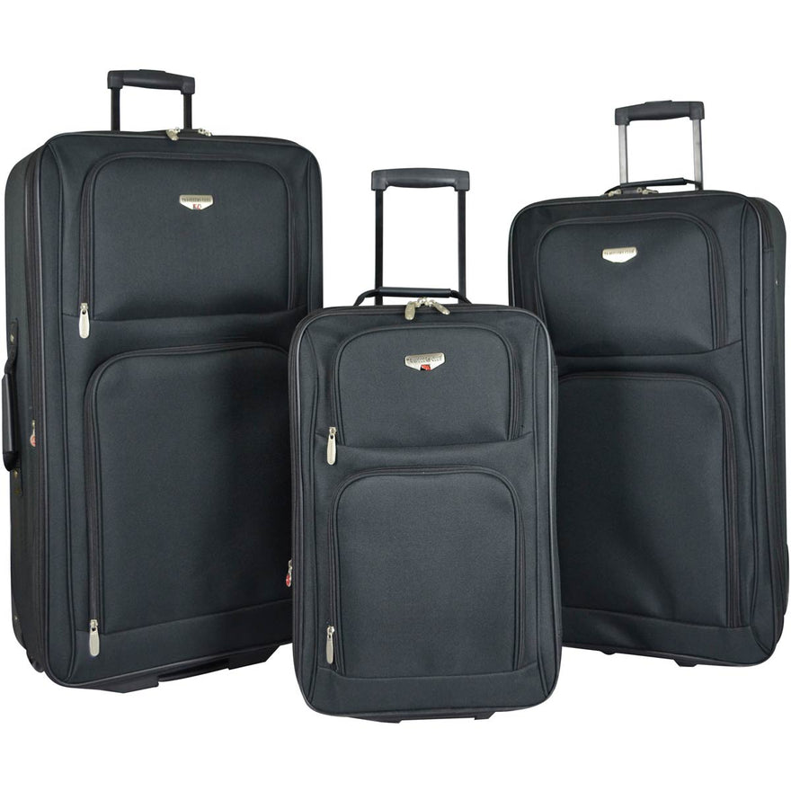 Travelers Club Genova 3PC Luggage Set