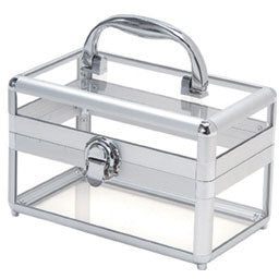 T.Z. Case Beauty Cases Clear Spa Box