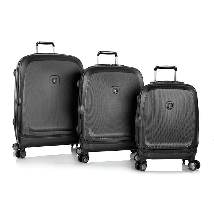 Heys Gateway 3 Piece Smart Luggage Widebody Spinner Set