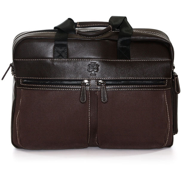 Jill-e Designs JUST Silwex 15in Leather Laptop Bag