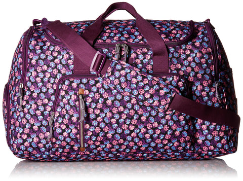 Vera Bradley Lighten Up Ultimate Gym, Berry Burst