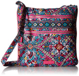 Vera Bradley Signature Cotton Triple Zip Hipster, Kaleidoscope