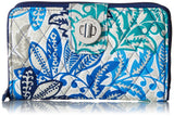 Vera Bradley Women's Signature Cotton RFID Turnlock, Santiago, One Size