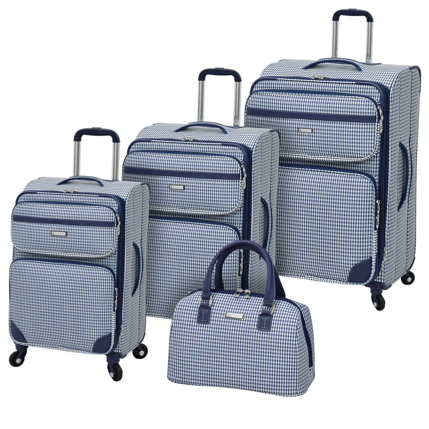 London Fog Hampton 4-Pc Spinner Set