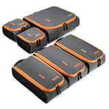 BAGSMART New Breathable Travel Accessories 6 Set Packing Cubes Luggage Packing Organizers Bag Fit