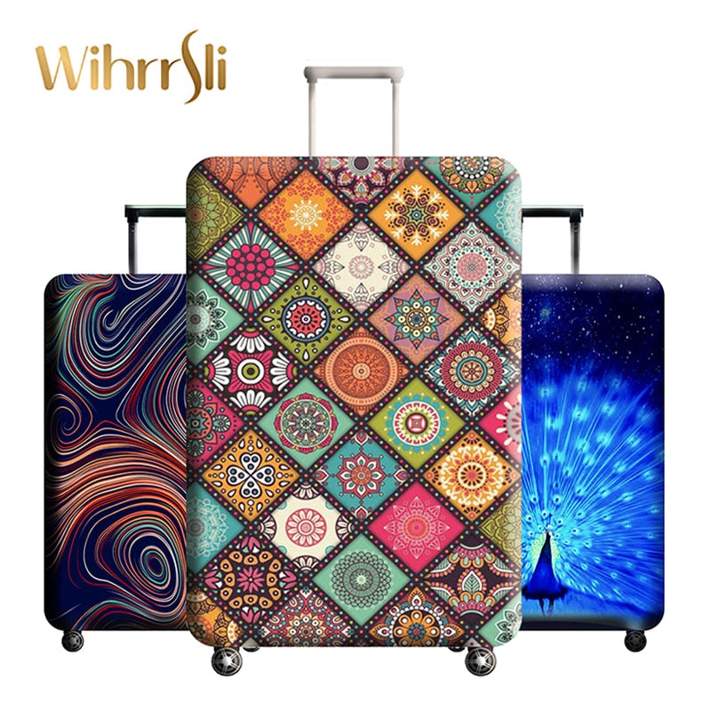 Diverse styles Travel accessories Luggage cover Suitcase protection baggage dust cover Stretch
