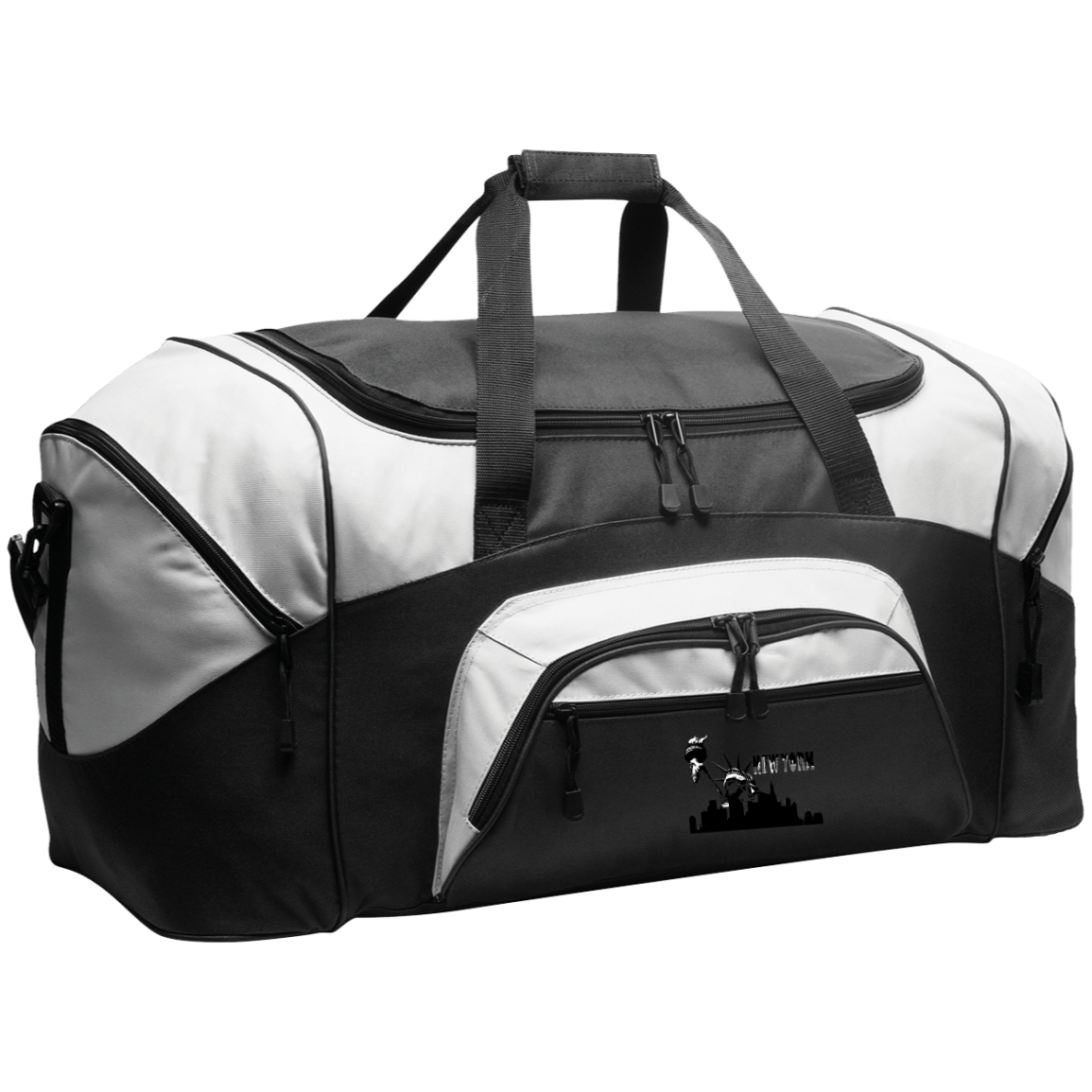 New York New York - Travel Experts  Colorblock Sport Duffel