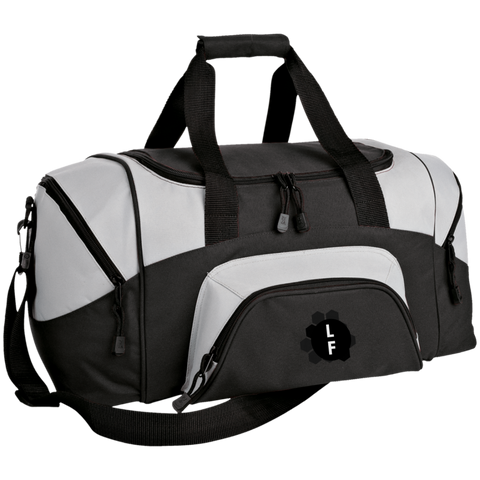 Colorblock Sport Duffel Bag From Luggage Factory