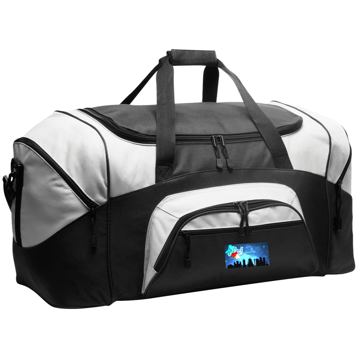 Travel Experts Colorblock Sport Duffel