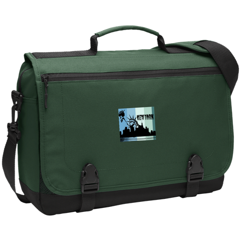 New York New York - Travel Experts  Messenger Briefcase