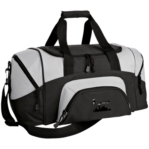 New York New York - Travel Experts Colorblock Sport Duffel Bag