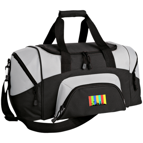 Beijing Travel - Luggage Factory Colorblock Sport Duffel Bag