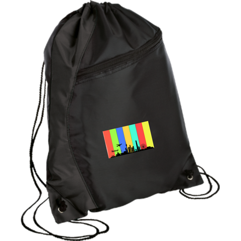 Beijing Travel - Luggage Factory Colorblock Cinch Pack