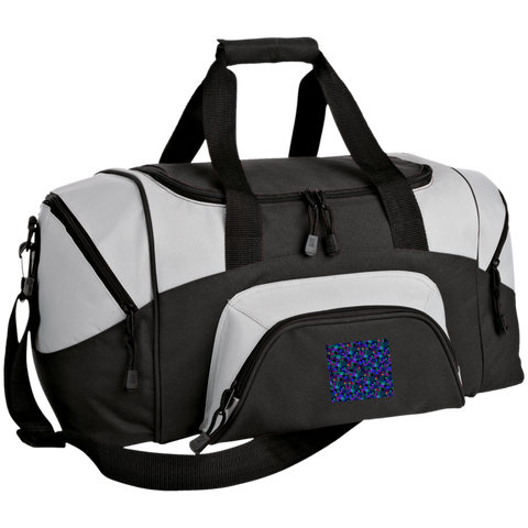 Colorblock Sport Duffel Bag