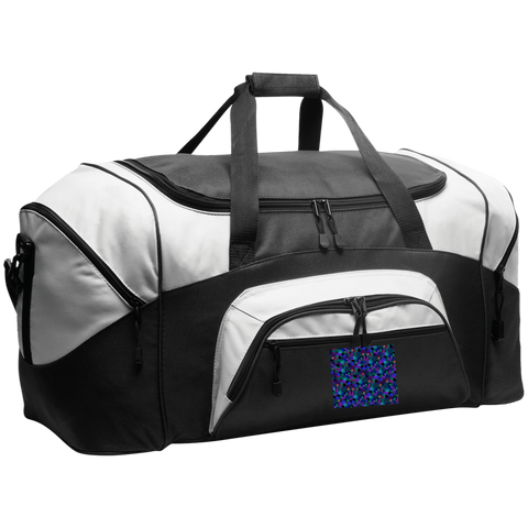 Luggage Factory  Colorblock Sport Duffel
