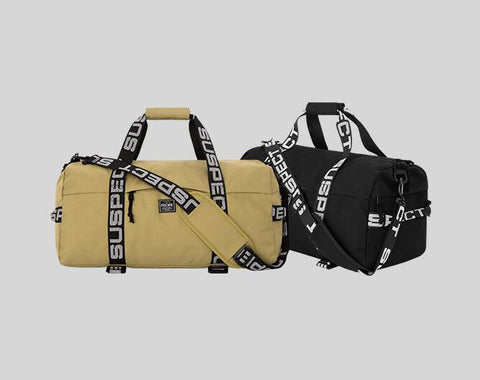 INFLATION Letter Luggage & Travel Bags Large Capacity Hand Nylon Luggage Weekend Bags Street Swag Fashion Hip hop Bag